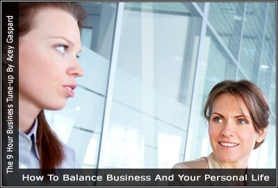 Image of a two women in an office