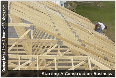 Image of a man working on a new roof