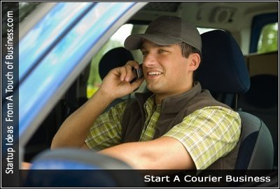 Image of a Courier Business
