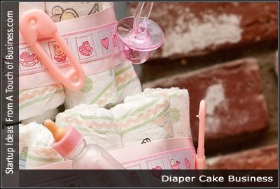 Image of a Diaper Cake