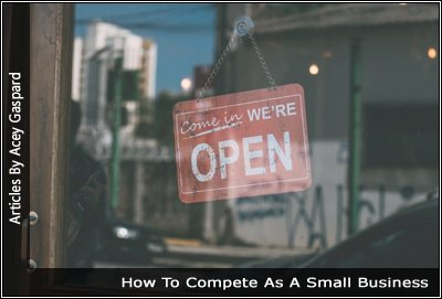 Image of a small business door