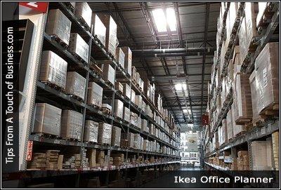 Image of an Ikea Warehouse