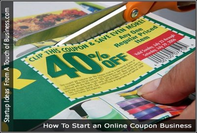 Image of someone cutting out a coupon