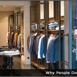 Image of an clothing store
