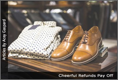 Image of a store display for men's clothing