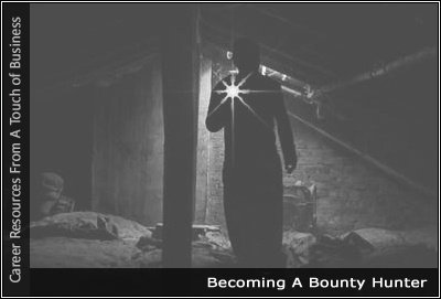 Image of a someone searching for something in a dark room