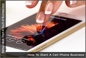 A woman's hand over a cell phone