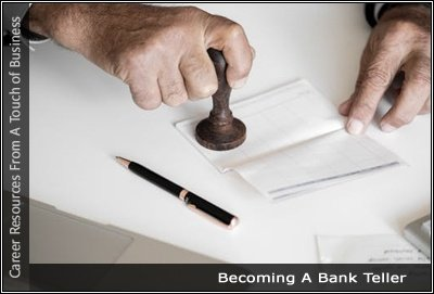 Image of a man stamping a bank account book
