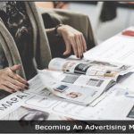 Image of a woman looking through a magazine