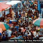 Image of a crowd at a Flea Market