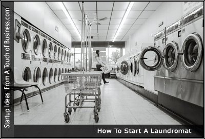Image of a a Laundromat