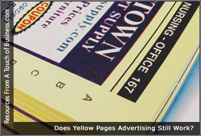 Image of a Yellow Pages Phone Book