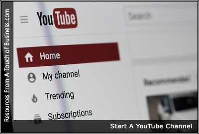 Image of the YouTube website