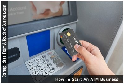 Image of Someone Using an ATM