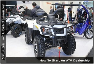 Image of an ATV
