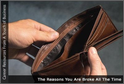 Image of someone holding an empty wallet