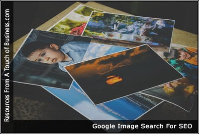 Image of photos on table