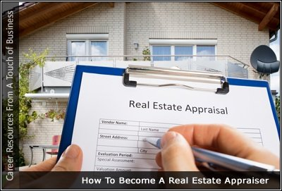 Image of someone filling in a real estate appraisal form