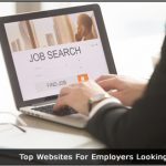Image of someone using a Job search websites