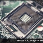 Image of a Computer CPU