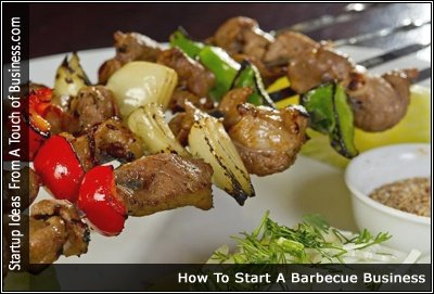Image of barbecued food