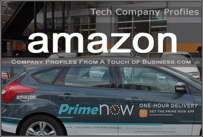 Image of an Amazon delivery vehicle