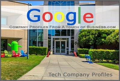 Image of the entrance of a Google Building