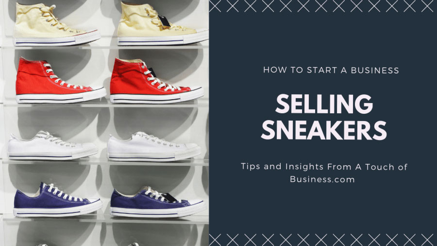 Image of Sneakers on a shelf